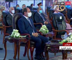 الرئيس السيسى: نسعى لإنشاء جامعات مصرية بمواصفات ومعايير عالمية