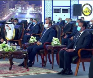 الرئيس السيسي: لدينا 72 جامعة ونخطط للوصول إلى 125 في عام 2032