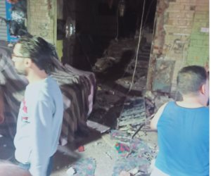 إصابة شخص نتيجة انفجار ماسورة غاز بمنطقة دار السلام