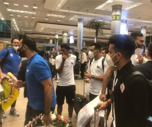 الرجاء يصل القاهرة لمواجهة الزمالك في نصف نهائي دوري أبطال أفريقيا (صور)