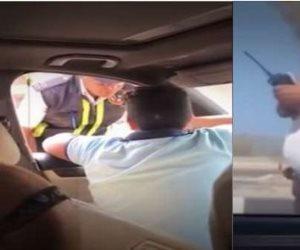 «كلاكيت تاني مرة».. القبض على طفل المرور و4 من أصدقائه لتنمهرهم على رجل شرطة