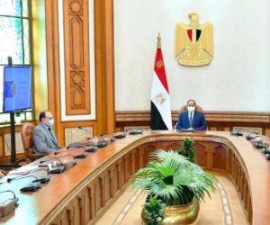 السيسي يطلع على التخطيط الهندسي للحي الدبلوماسي في العاصمة الإدارية