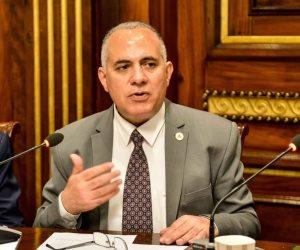 وزير الري: عكارة مياه النيل دليل كفاءة شبكة تصريف السيول