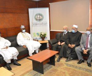 أمين البحوث الإسلامية لأعضاء وفد نيجيريا: الأزهر يقدم أسمى الخدمات التعليمية للطلاب الوافدين