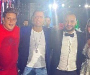 هاني مهنا: لم أعزم بيكا وشاكوش وعمر كمال بفرح هنادي ولا أعرف شكلهم في الأساس (صور)