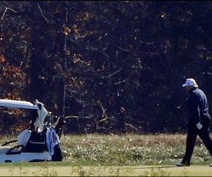 بايدن يحتفل وأمريكا منقسمة وأوراق اللعب تتغير في العالم.. وترامب يلعب الجولف