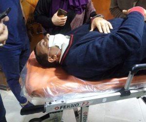 نقل مرشح لمجلس النواب بالمحلة إلى المستشفى إثر تعرضه لحادث سيارة أمام إحدى اللجان