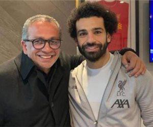 عمرو الجناينى: محمد صلاح زى الفل ولا يعانى من سعال أو ارتفاع بدرجة الحرارة