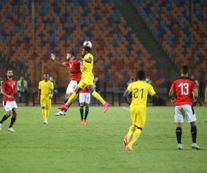 التعادل السلبى يحسم الشوط الأول بين مباراة منتخب مصر وتوجو
