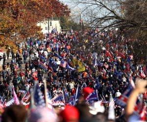 مليونية ترامب.. الأنصار يتظاهرون في الولايات دعماً لاستمرار دونالد في الرئاسة
