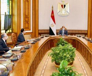 الرئيس السيسي يوجه بالتوسع في رقعة المجتمعات والأراضي الزراعية على مستوي الجمهورية