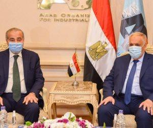وزير التموين ورئيس العربية للتصنيع يتفقان علي تعزيز خطة الدولة لاستخدام الغاز الطبيعي بالمخابز البلدية