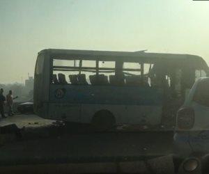 جديد حادث أتوبيس طلاب الهرم.. حب السائق وخضوعه لتحليل المخدرات