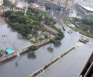 محافظ الإسكندرية يرد على الغاضبين: الأمطار 10 أضعاف الطاقة الاستيعابية لمرافق المحافظة