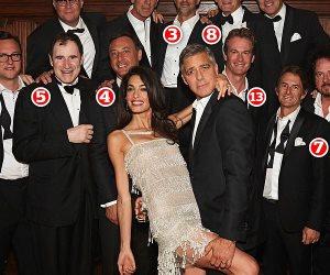 بعضهم بكى من الفرحة.. من هم المحظوظون أصحاب هدية المليون دولار من جورج كلوني؟