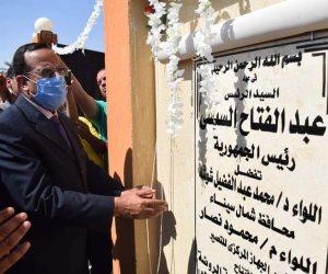 عام حكم الاخوان.. مجزرة مسجد الروضة كانت دافعا لتحويل الرماد إلى خضار ونماء في سيناء