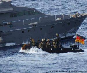 دليل جديد علي دعم الإرهاب .. تركيا تمنع الجيش الألمانى من تفتيش سفينة مشبوهة قبالة ليبيا