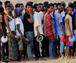 كارثة إنسانية في إثيوبيا.. 33 ألف لاجئ دون مأوى يفرون من جحيم الحرب في تيجراى