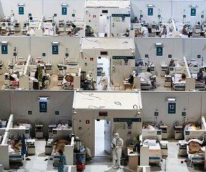 لمواجهة تزايد حالات كورونا.. المستشفيات الميدانية تعود من جديد في أوروبا