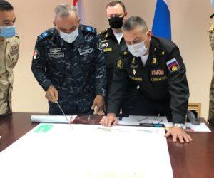 """ختام فعاليات التدريب البحرى المصرى الروسى المشترك """" جسر الصداقة - 3 """""""