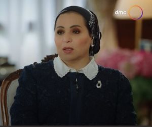 السيدة انتصار السيسي: والد الرئيس إنسان جاد وورثوا منه حسن الإدارة
