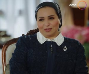 حرم الرئيس السيسي: عشت أحداث مسلسل الاختيار.. وليالي الحلمية سابت أثر طيب في حياتنا