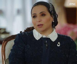 السيدة انتصار السيسي لـ «إسعاد يونس»: أمهات الشهداء أبطال.. وفخورة بمكاسب المرأة المصرية وتشجيعى دائم للشباب