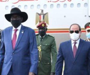 """رسائل زيارة الرئيس السيسي التاريخية لجنوب السودان.. تحديد رؤية مصر لـ""""مستقبل النيل"""""""