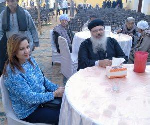 قمص بكنيسة أبو سفين يشارك فى افتتاح معهد أزهري بقنا (صور)