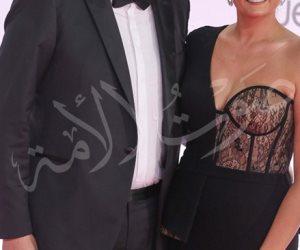 أول ظهور لبشرى وخطيبها في مهرجان القاهرة السينمائي (صور)