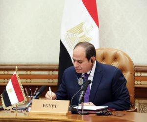 السيسي: لا حل لأزمة لبنان إلا بتلبية المطالب المشروعة للشعب اللبناني