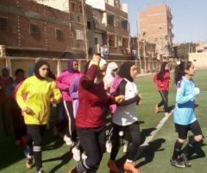 حكاية هزت الصعيد.. فتيات كرة القدم النسائية بقرية البرجاية بالمنيا يتحدين العادات والتقاليد ويصعدن للدوري الممتاز