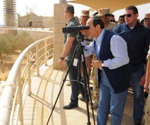 علامات بارزة في تنمية سيناء: توصيل الغاز للمنازل.. منشآت تجارية وصناعية وسياحية