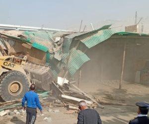 إزالة سوق الكلاب في حي الخليفة بالقاهرة (صور)