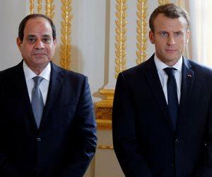 القاهرة باريس.. الاقتصاد على رأس العلاقات بين الدولتين
