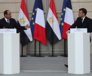رسائل الرئيس السيسي في فرنسا.. نسف الادعاءات الكاذبة للصحافة الغربية تجاه الوضع بمصر