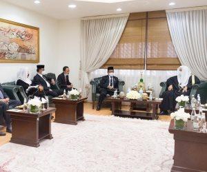 العيسى يستقبل وزير التنسيق للشؤون السياسية والأمنية والقانونية الإندونيسي