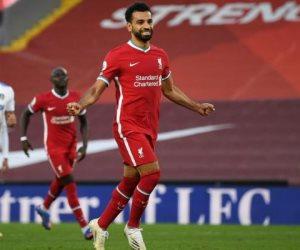 محمد صلاح يسجل أسرع أهداف ليفربول في دوري الأبطال بعد 55 ثانية فقط