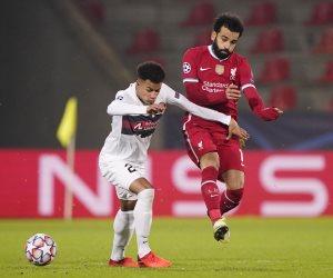 محمد صلاح يسجل ويدخل التاريخ في تعادل ليفربول ضد ميدتيلاند بدوري الأبطال