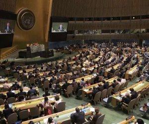 الجمعية العامة للأمم المتحدة تصوت على حق الشعب الفلسطينى فى تقرير المصير