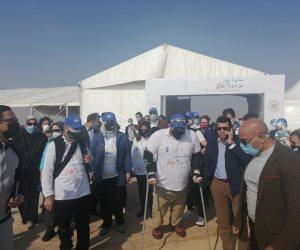 بمشاركة 3 وزراء.. برنامج الأمم المتحدة الأنمائي يطلق مسيرة لذوي الهمم بسفح الأهرامات