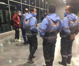 أول صور لوصول بعثة منتخب الشباب لمطار القاهرة قادمة من تونس