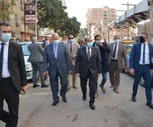 وزير التنمية المحلية يحيل رئيس حي حلوان للتحقيق بسبب إجراءات كورونا (صور)