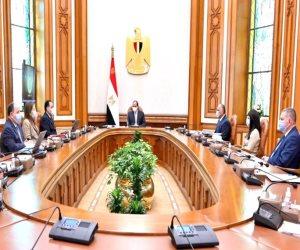 الرئيس السيسي يوجه بزيادة الفرص الاستثمارية بالمنطقة الاقتصادية لقناة السويس