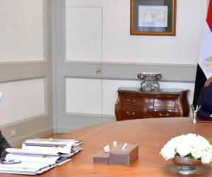 الرئيس يوجه بتوفير الموارد المالية للشركات المدنية المنفذة للمشروعات القومية