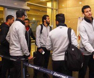 بعثة الأهلى تصل القاهرة قادمة من النيجر بعد الفوز على سونيديب
