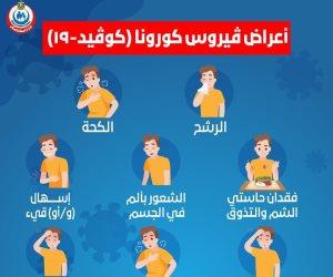 الإسهال والقيء أبرزها.. الصحة توضح أعراض فيروس كورونا
