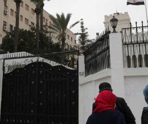 وفد مصري يزور طرابلس لمعاينة مقر السفارة المصرية والتأكيد على وقف إطلاق النار