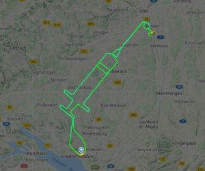 طيار ألماني يبشر العالم بقرب نهاية أزمة كورونا