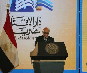 وزير العدل: دار الإفتاء تبذل جهوداً مضنية نحو تجديدِ الخطابِ الديني ومحاربة التطرف